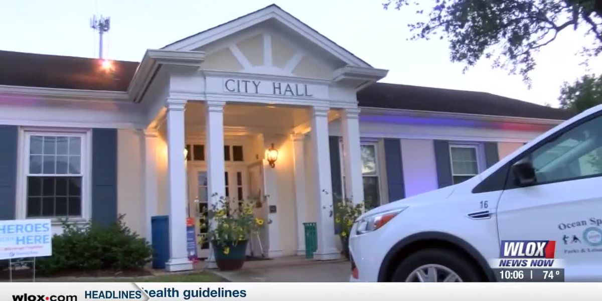 Ocean Springs to require face masks inside city buildings