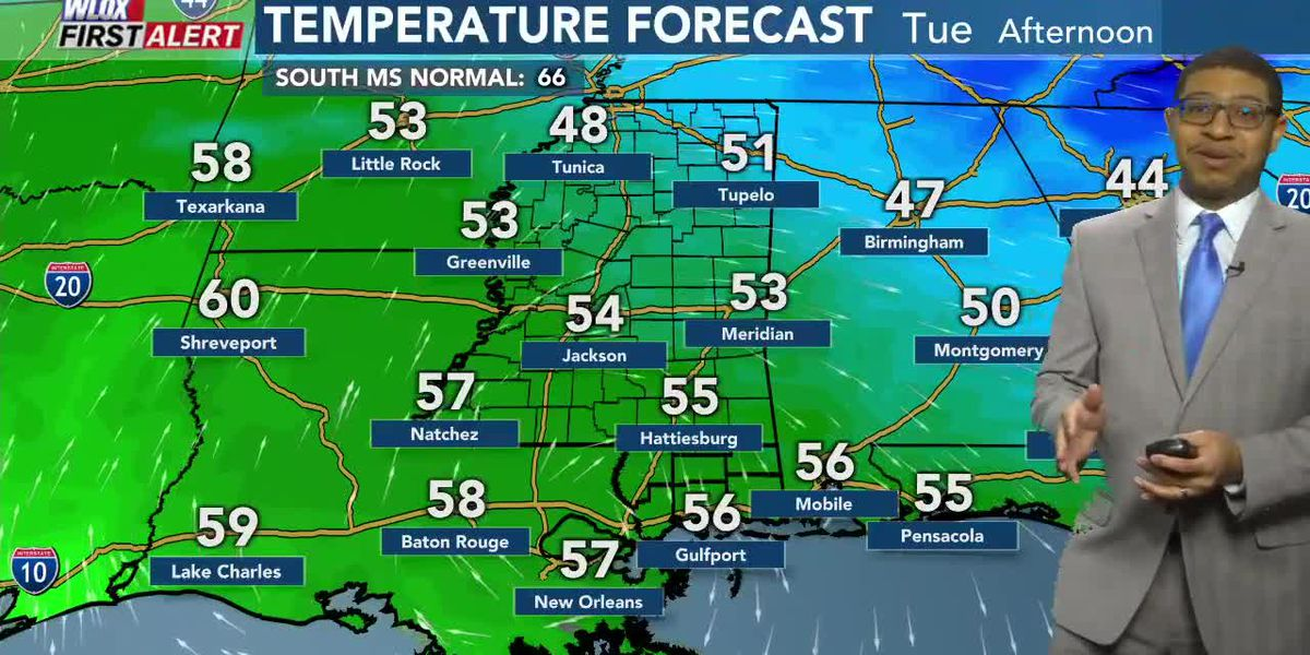 Wesley's Tuesday Morning First Alert Forecast