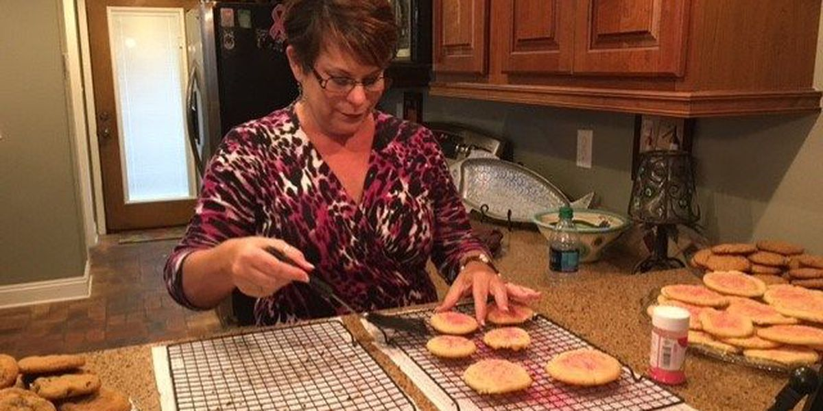 Breast cancer survivor bakes to make a sour situation sweeter