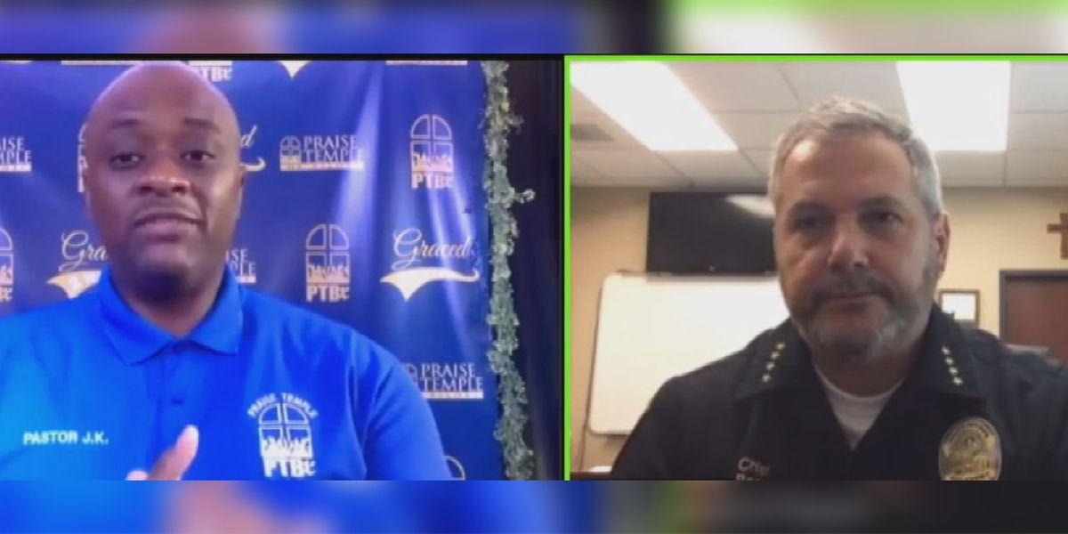 Coast police chief and pastor address national conversation on police violence