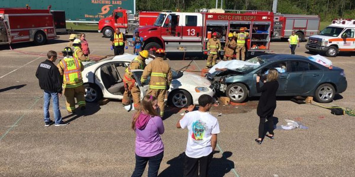 West Harrison students get sobering lesson day before prom