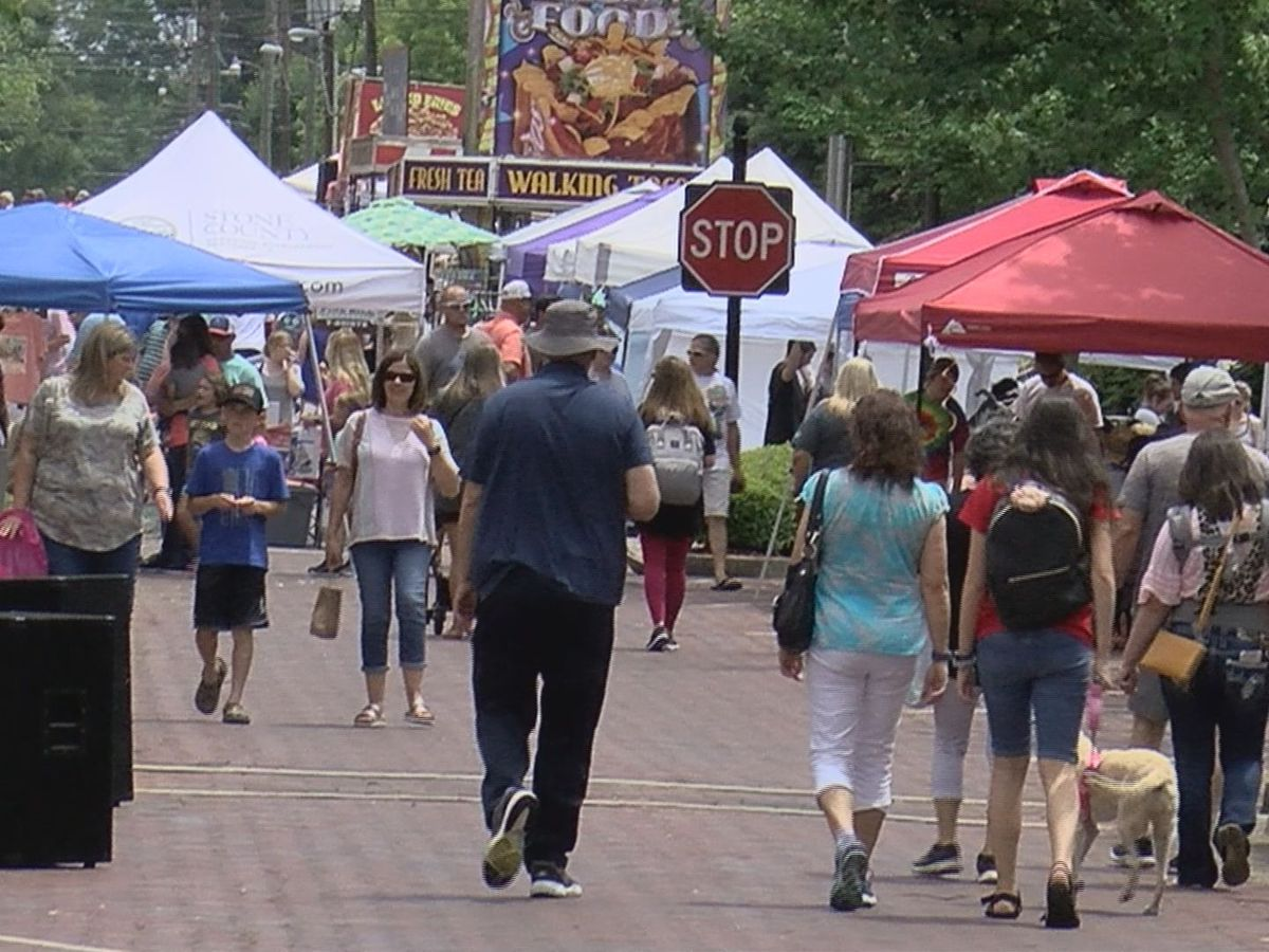Stone County Pine Hill Festival returns with large crowd