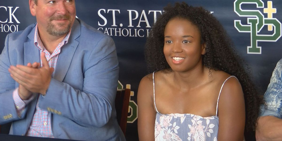 St. Patrick golf standout signs with Blue Mountain College