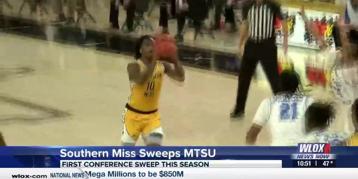 USM Sweeps Middle Tennessee