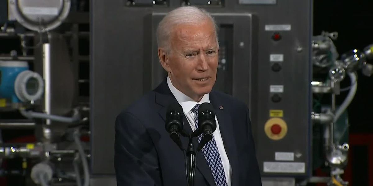 Biden teases goal of normalcy from pandemic