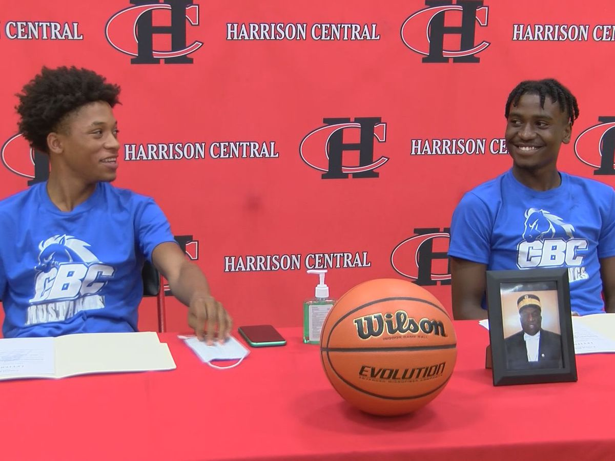 Harrison Central's King & Haynes sign to play for Central Baptist College