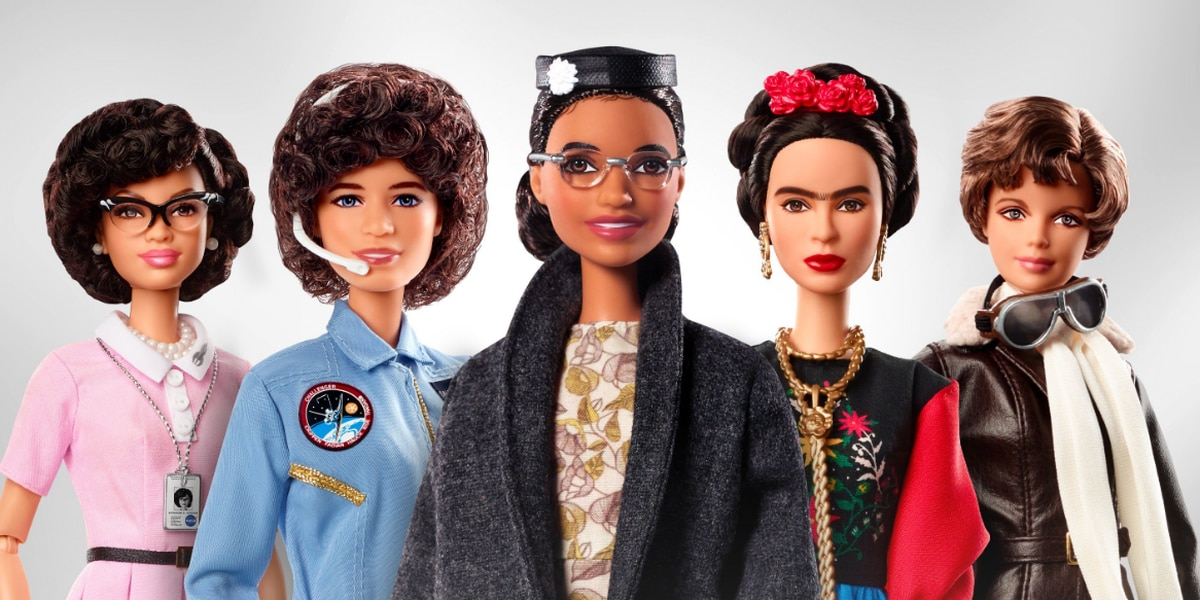 Rosa Parks and Sally Ride get their own Barbie dolls