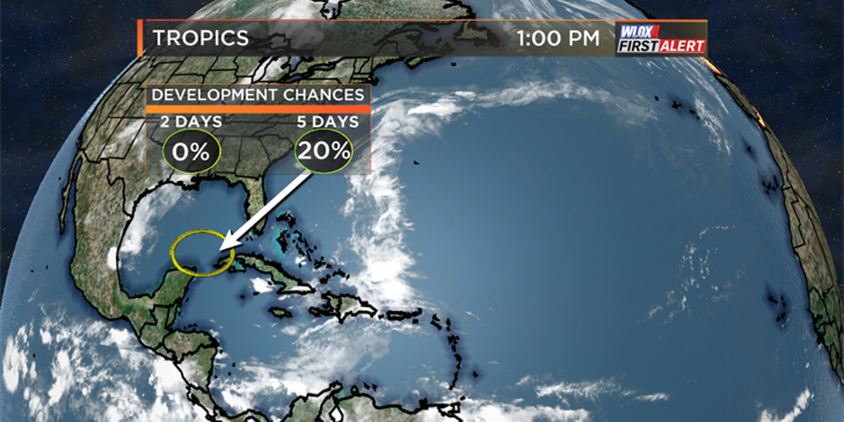 Possible early June Gulf tropical development