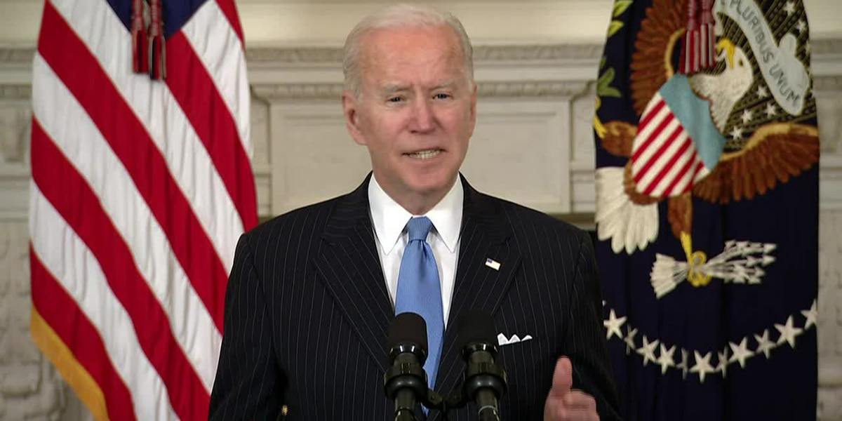 Live: Biden remarks at virtual event with House Dems