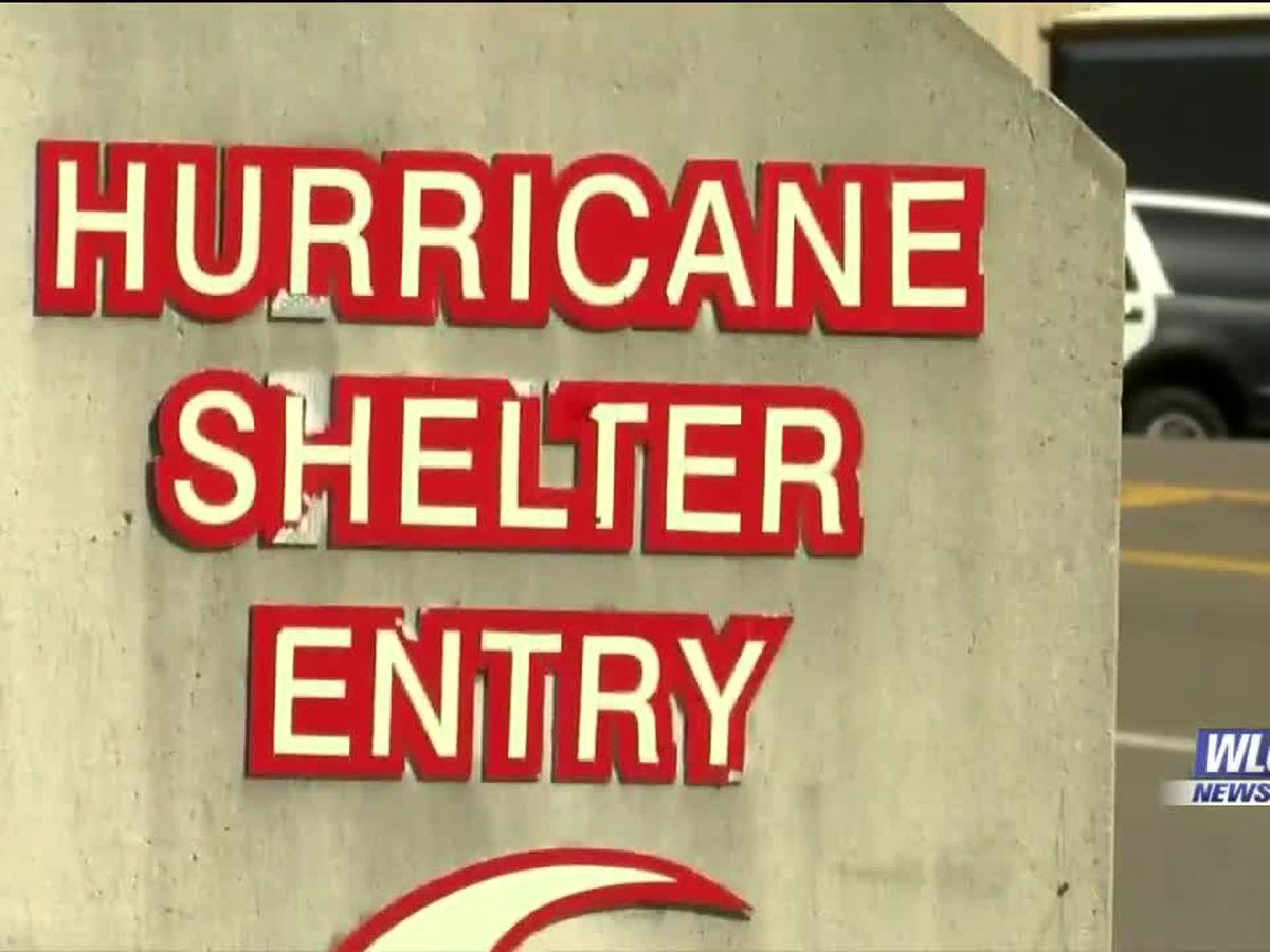 Hurricane shelters set to open ahead of Zeta's arrival