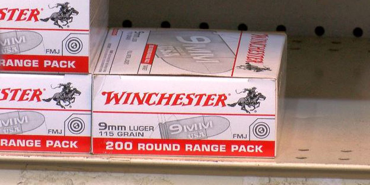 Ammunition shortages hit South Mississippi gun shops