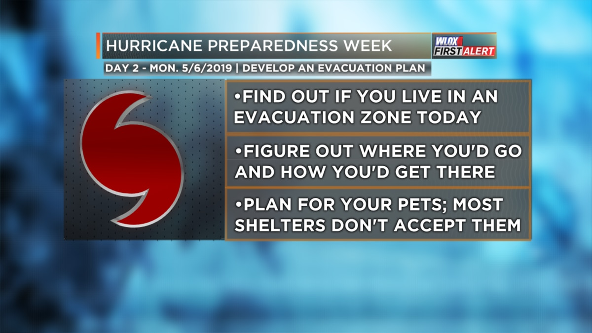 Hurricane Preparedness - Develop an Evacuation Plan