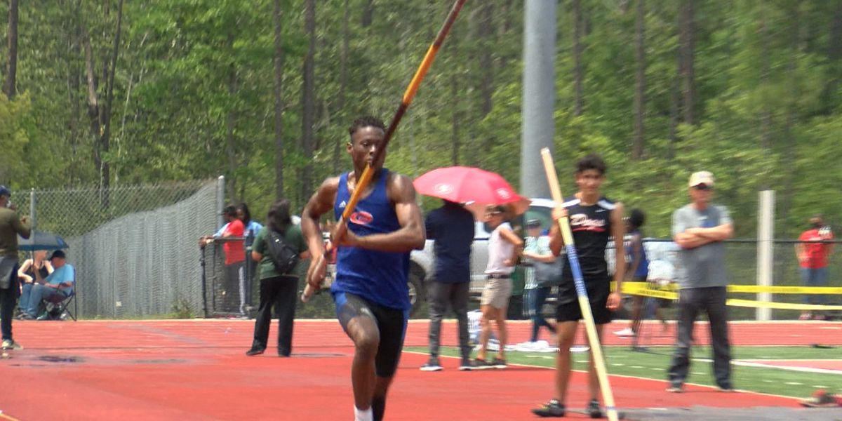 Athletes from across South Mississippi compete in 6A State track meet