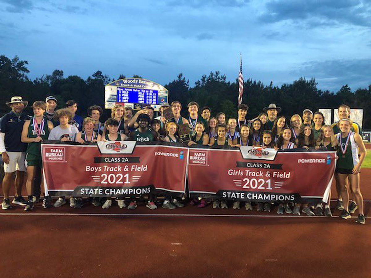 St. Patrick track and field sweeps 2A state championships