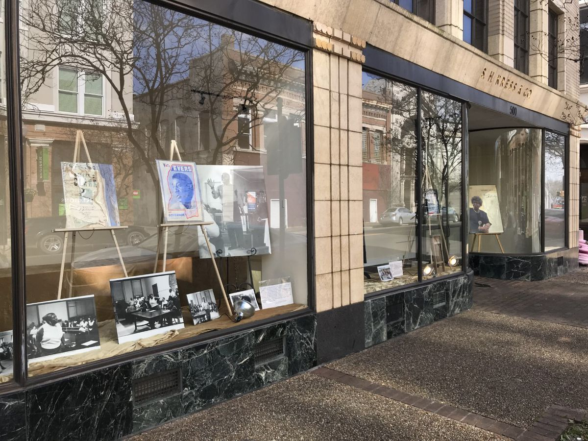 Black History Month exhibit on display at Hattiesburg Kress building