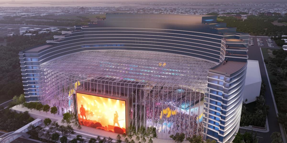 Universal Music to build $1.2 billion hotel, entertainment destination in Biloxi
