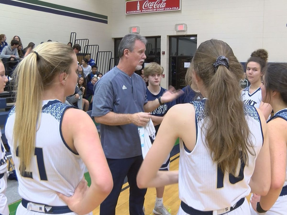 Lady Irish fall in first-ever home state playoff game