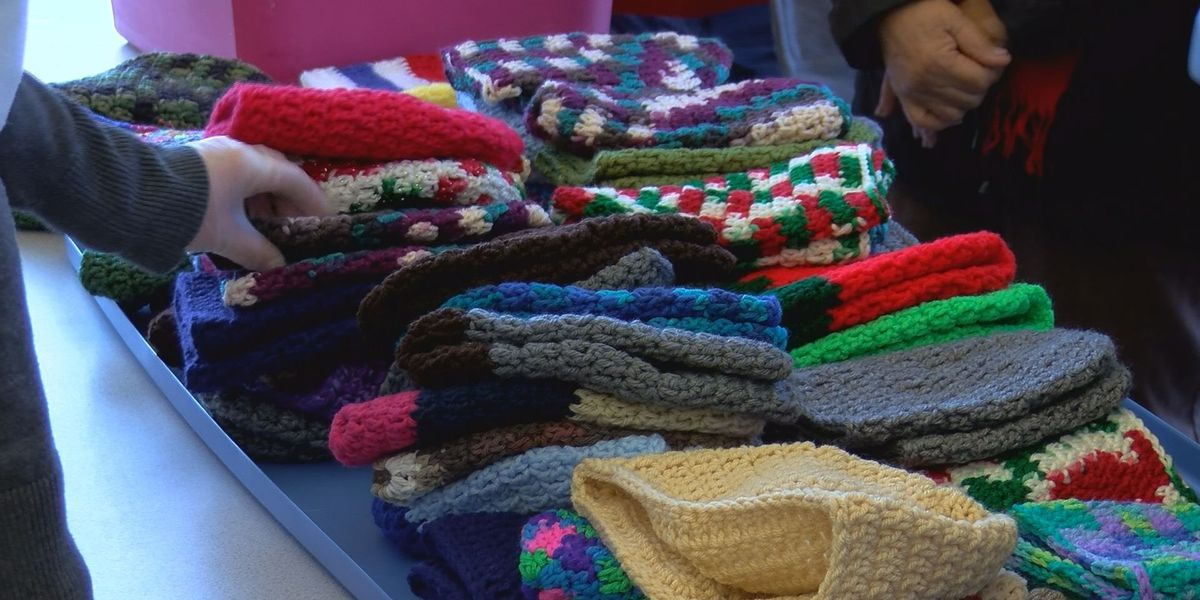 Biloxi woman delivers crocheted caps to those in need