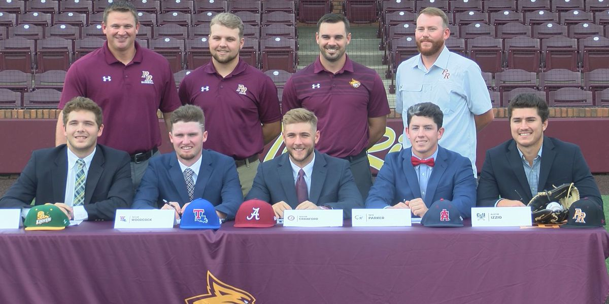 Five Pearl River baseball standouts sign with 4-year programs