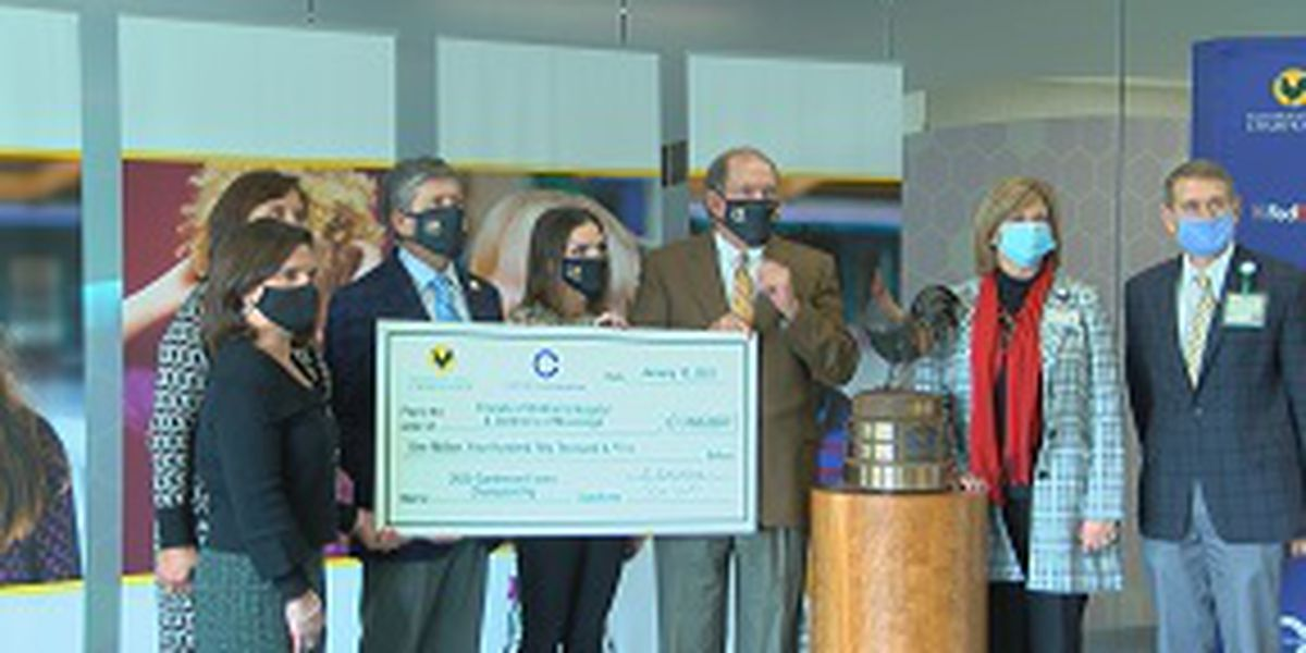 Record breaking gift presented to Mississippi's only children's hospital