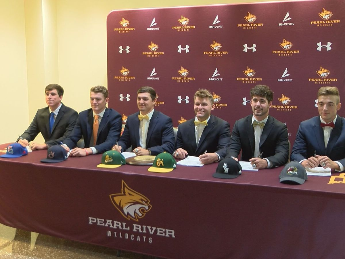 Six from Pearl River Baseball are headed to the next level