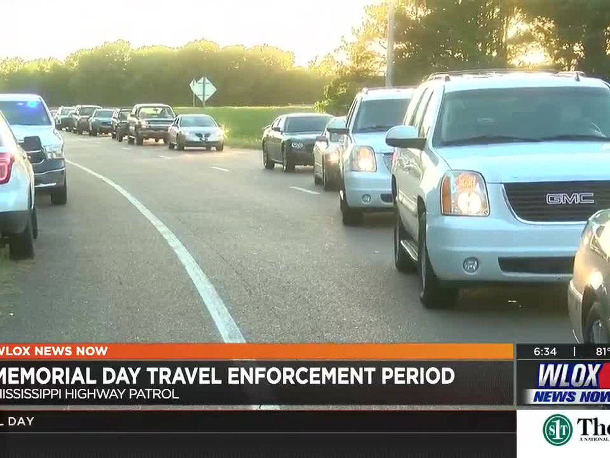 Traffic expected to increase along Gulf Coast for Memorial Day weekend and other events