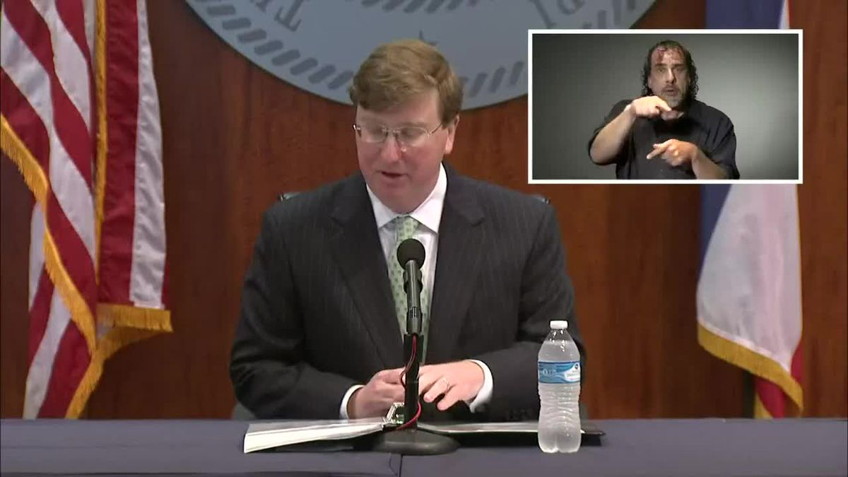 WATCH: Gov. Reeves gives latest on pandemic response