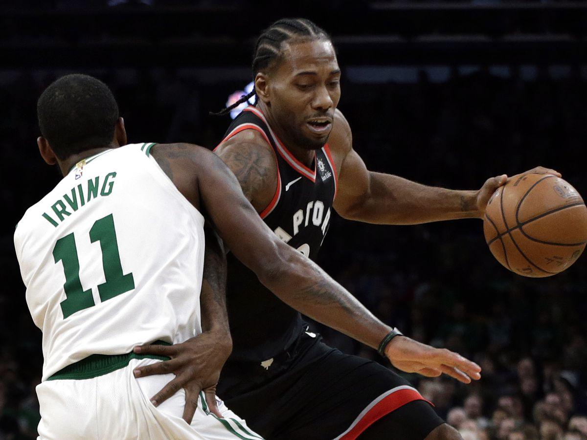 Kyrie scores 43, Celtics beat Raptors 123-116 in OT