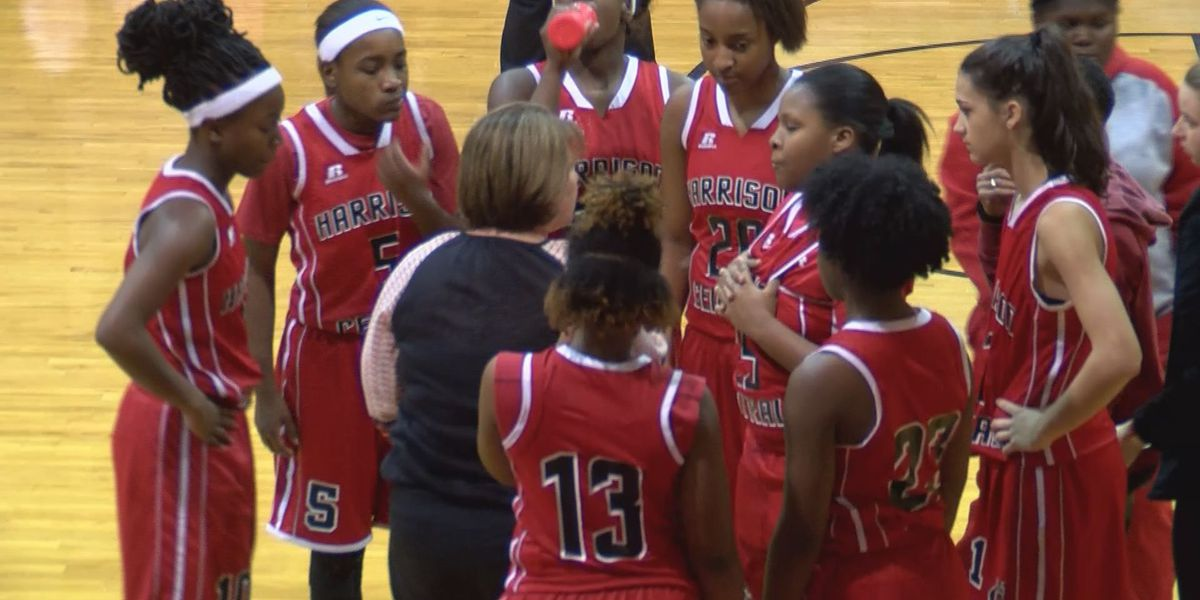 Chyna Allen leads a talented Harrison Central Red Rebelettes basketball team