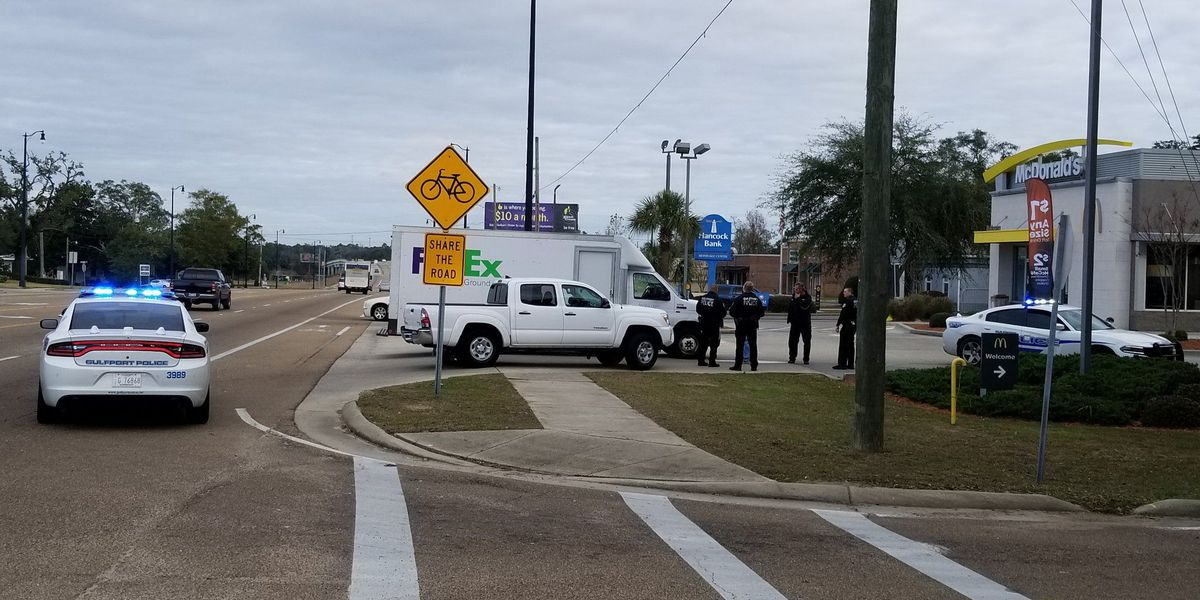 Victim extracted from vehicle after wreck in Gulfport