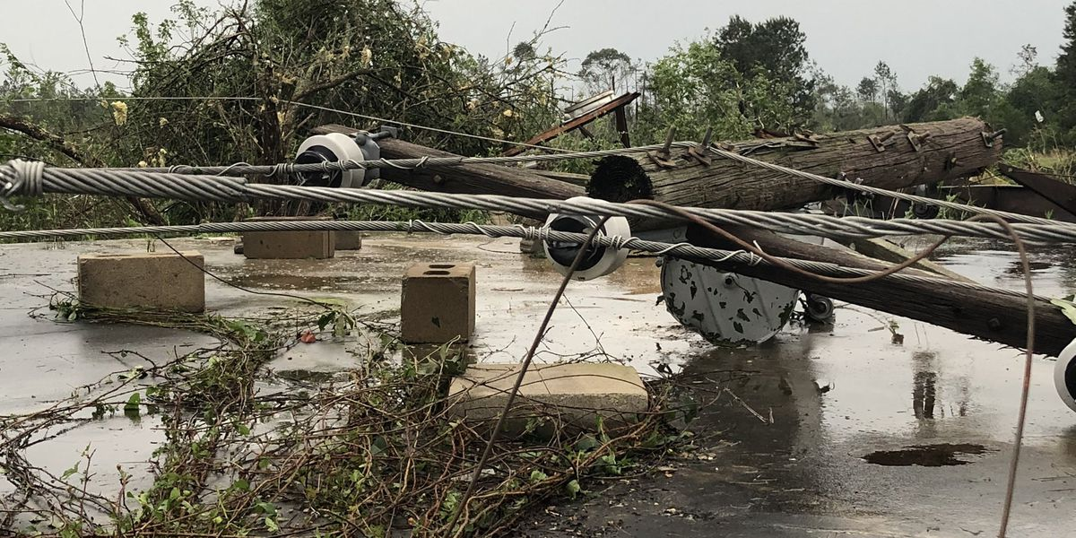 Thousands without power across Miss. from Easter storms