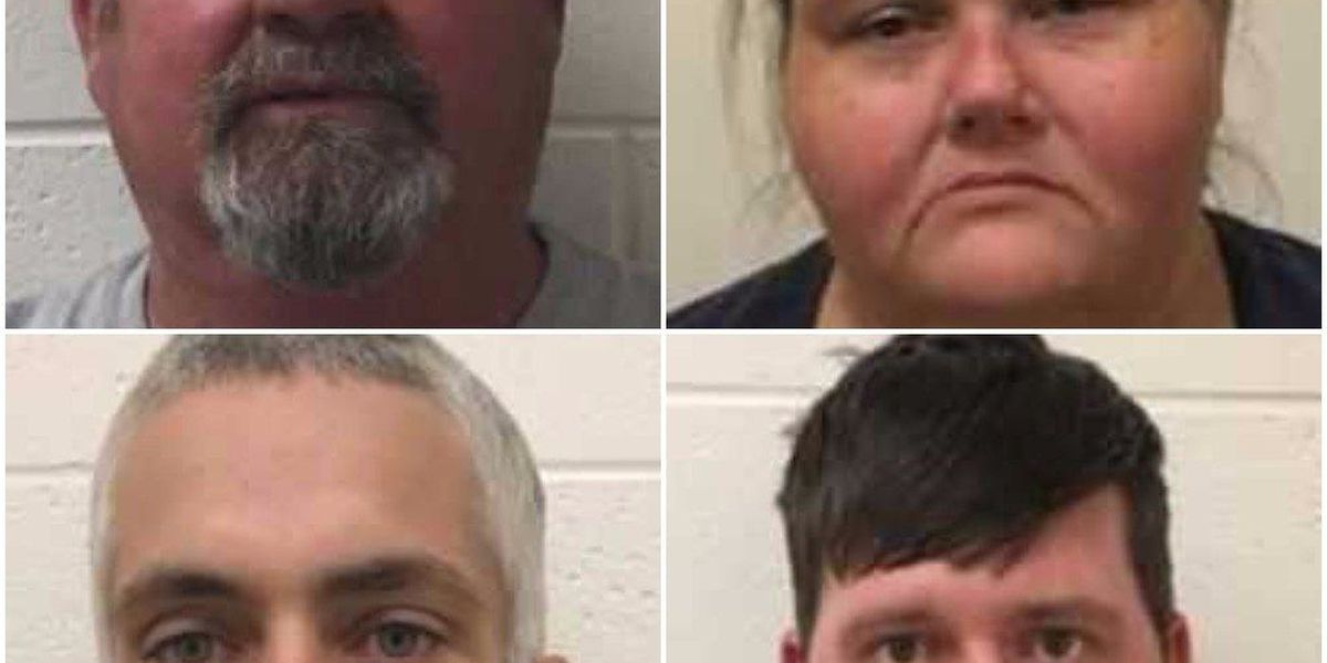 Four charged in Pearl River Co. drug investigation