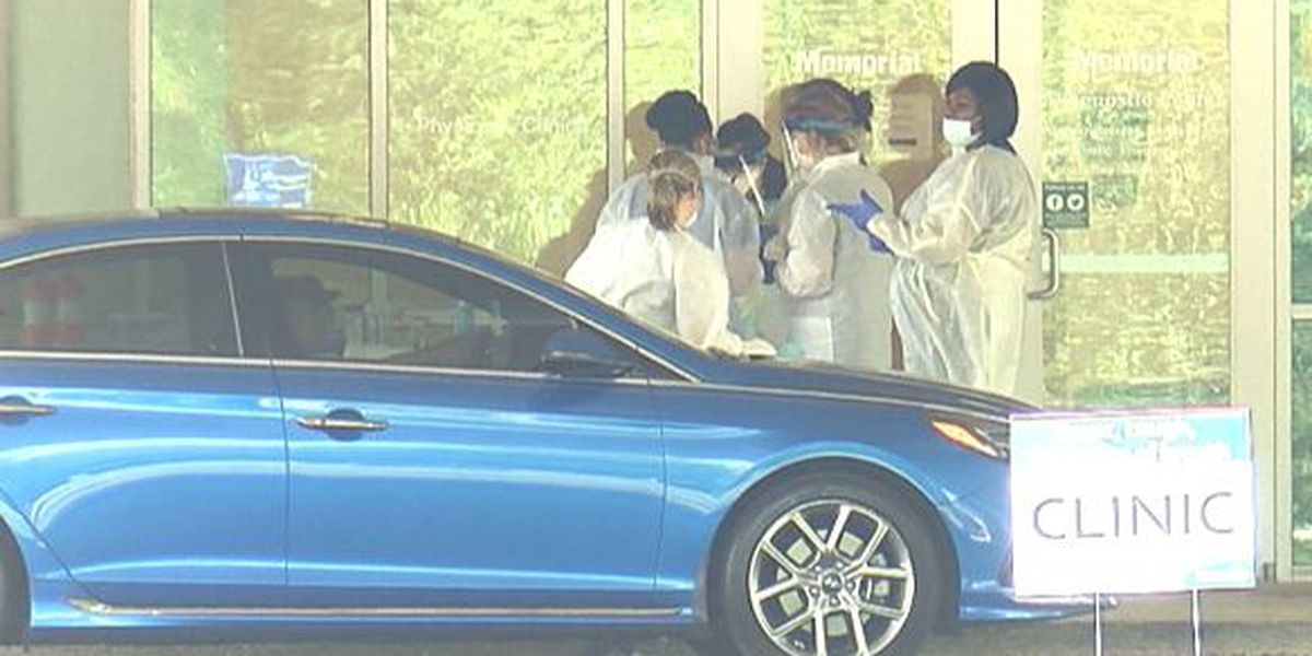 Local health systems open drive-thru clinics for COVID-19 testing