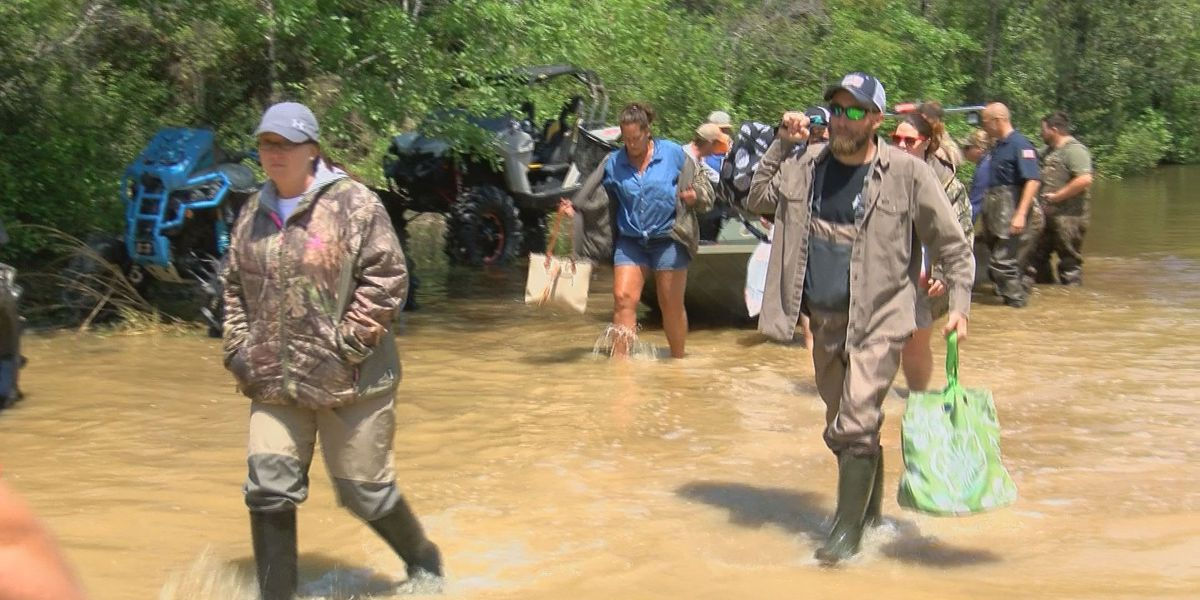 81 people saved from flood at George County park