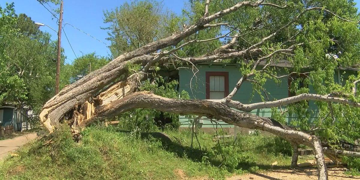 State leaders tour tornado damage in Warren County