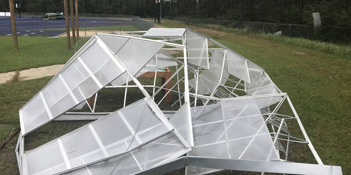 Severe weather damages part of St. Patrick Catholic school
