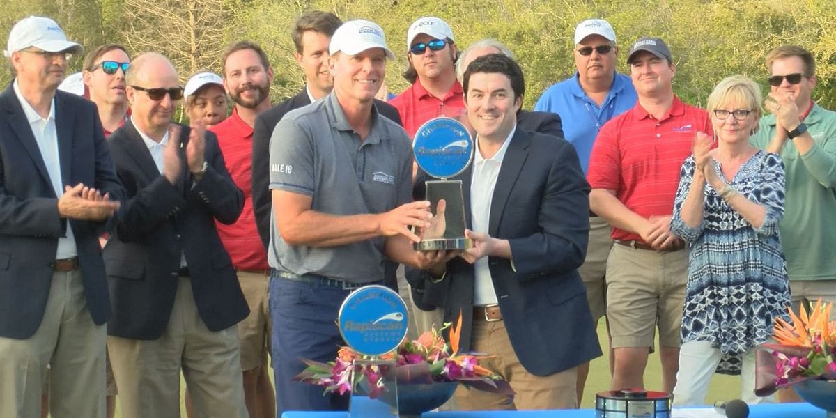 Steve Stricker claims Rapiscan Systems Classic title