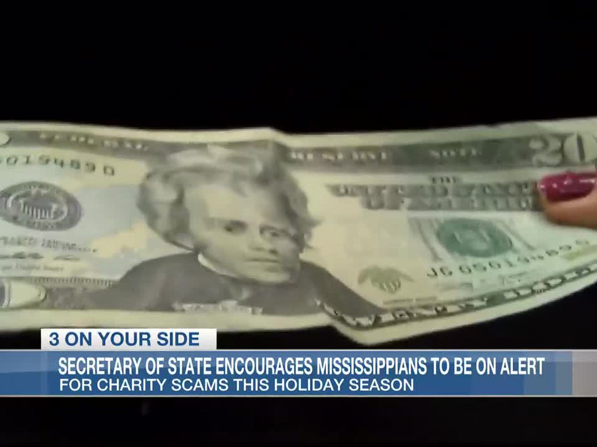 Miss. Secretary of State warns of charity scams around the holidays