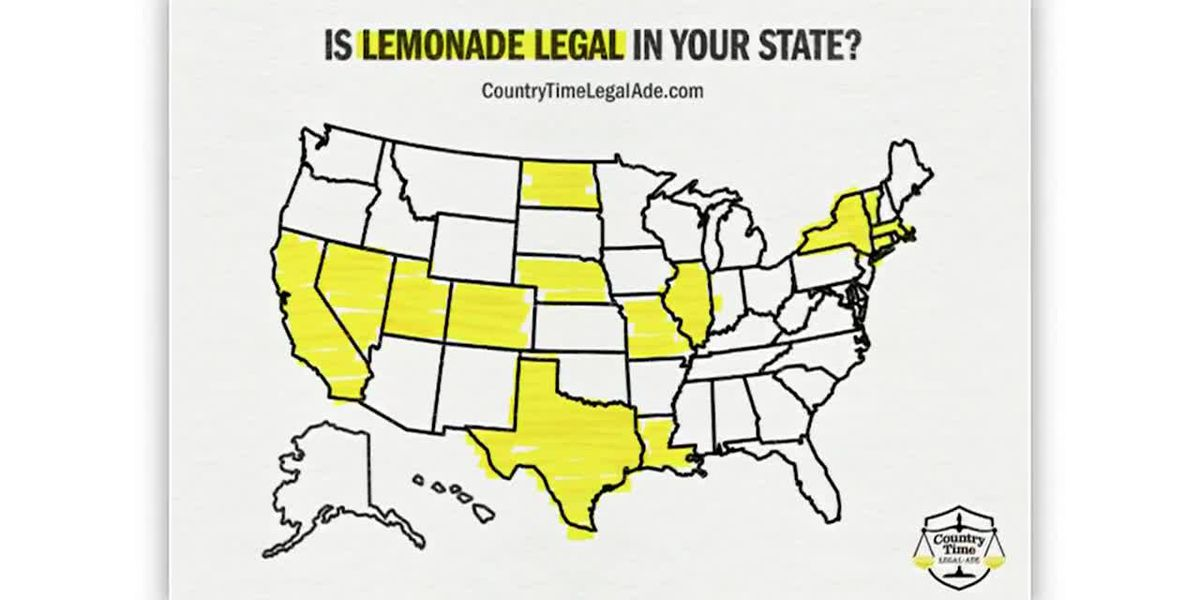 Country time wants to legalize all lemonade stands