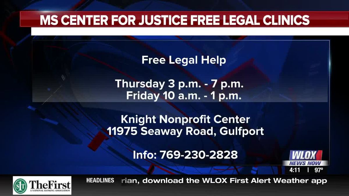 Happening Sept  5-6th: Free Legal Clinic