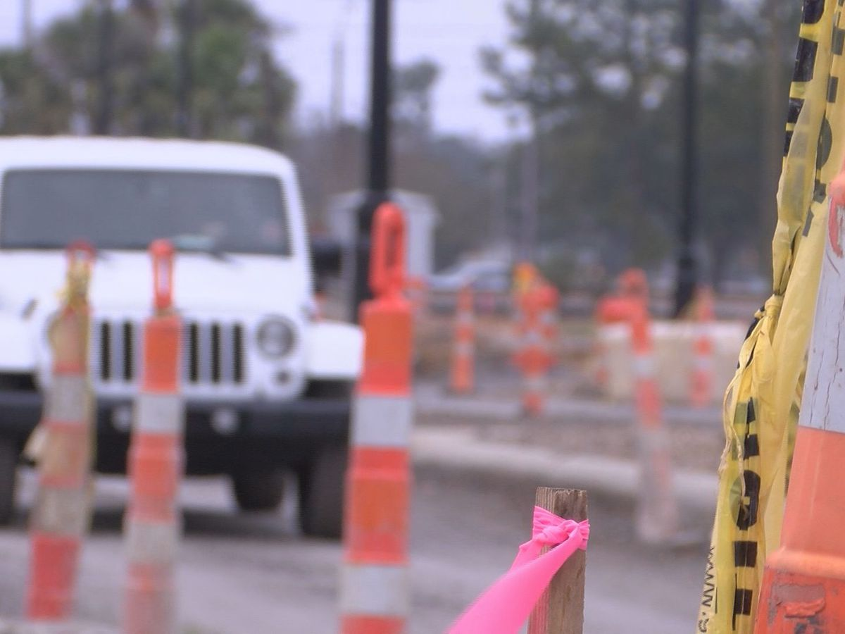 Hospital Road construction frustrating business owners