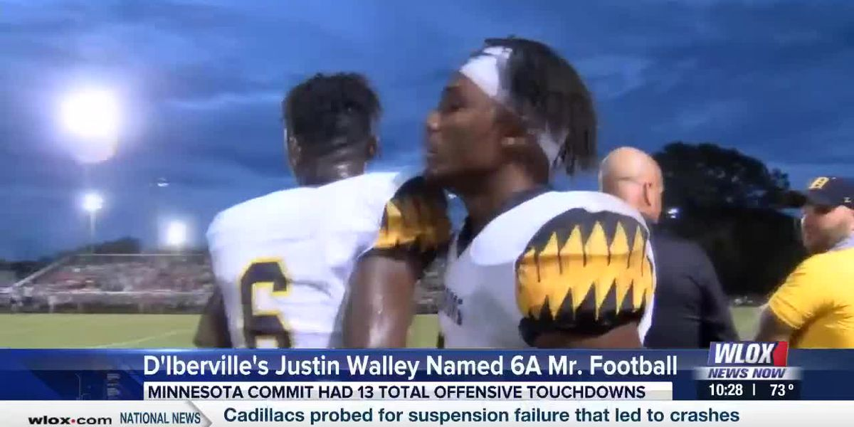 Justin Walley named 6A Mr. Football in Mississippi