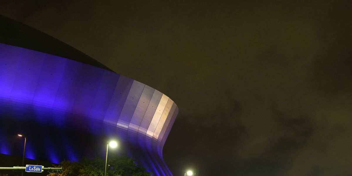 Superdome will light up to pay tribute to George Floyd
