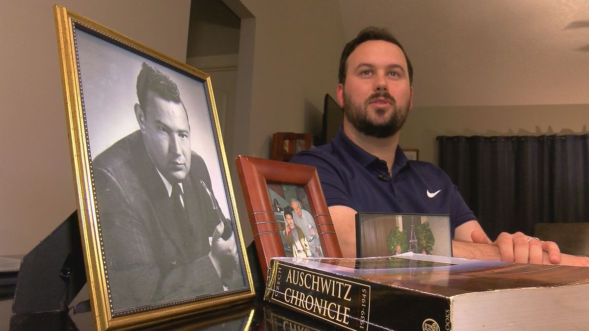 'You have to live to tell the world': Grandson of Mississippi's only Holocaust survivor shares story