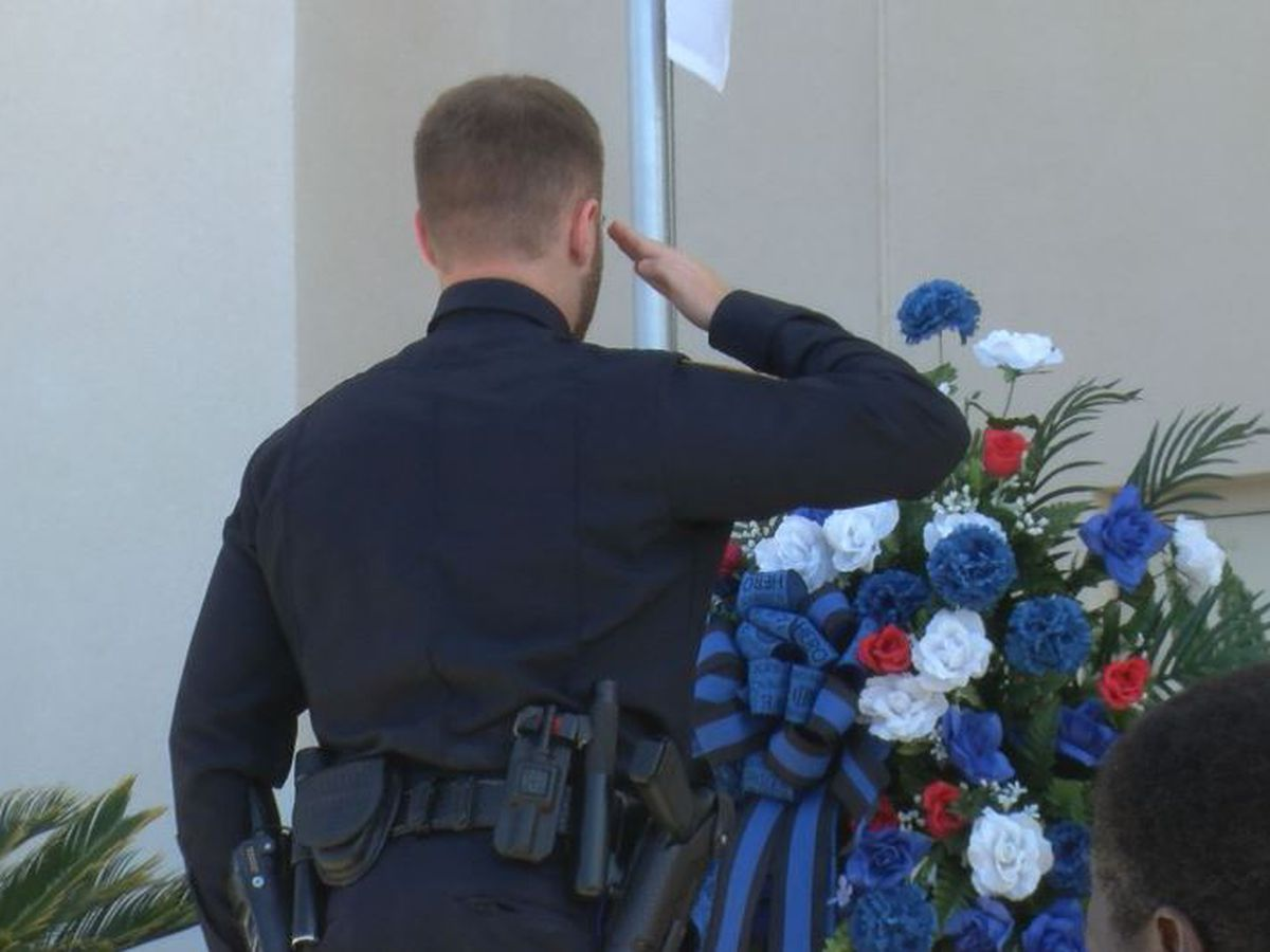 Gulfport police honor officers who died in the line of duty