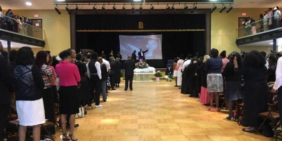 Family, friends say goodbye to Sierra Jones