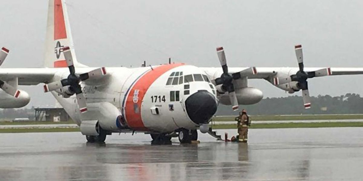 Coast Guard aircraft makes emergency landing in Gulfport
