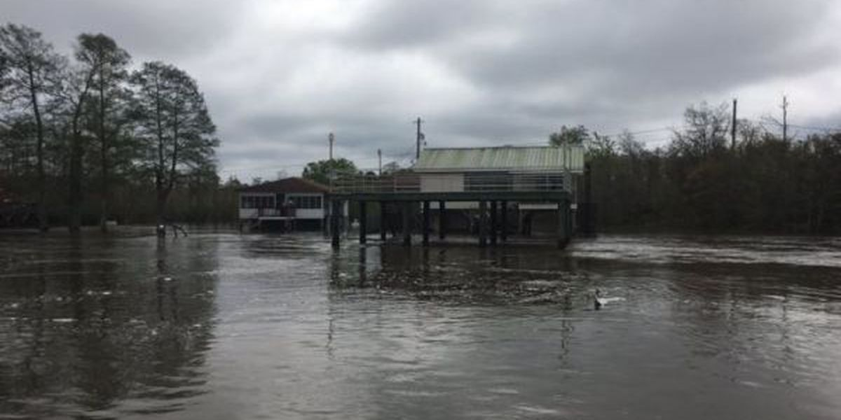 Pascagoula River causing problems in Jackson County