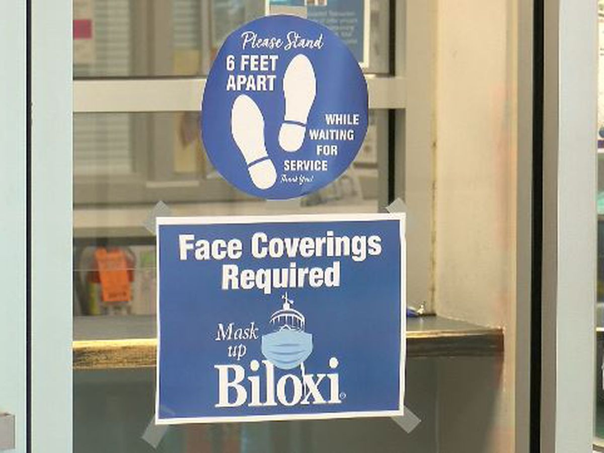 Businesses working to enforce mask mandate in Harrison Co.