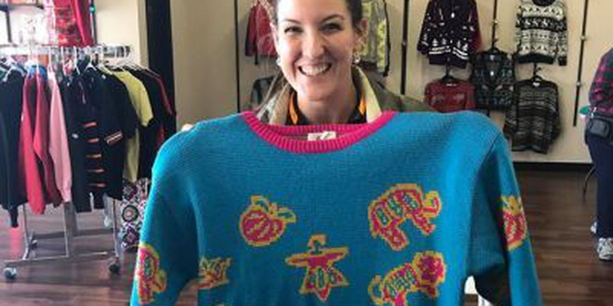 Ugly Christmas sweater pop-up opens in OS